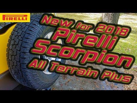 pirelli scorpion all terrain plus new tire model for 2018. Black Bedroom Furniture Sets. Home Design Ideas