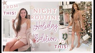 WINTER NIGHT TIME ROUTINE 2019 HOLIDAY EDITION ❄️