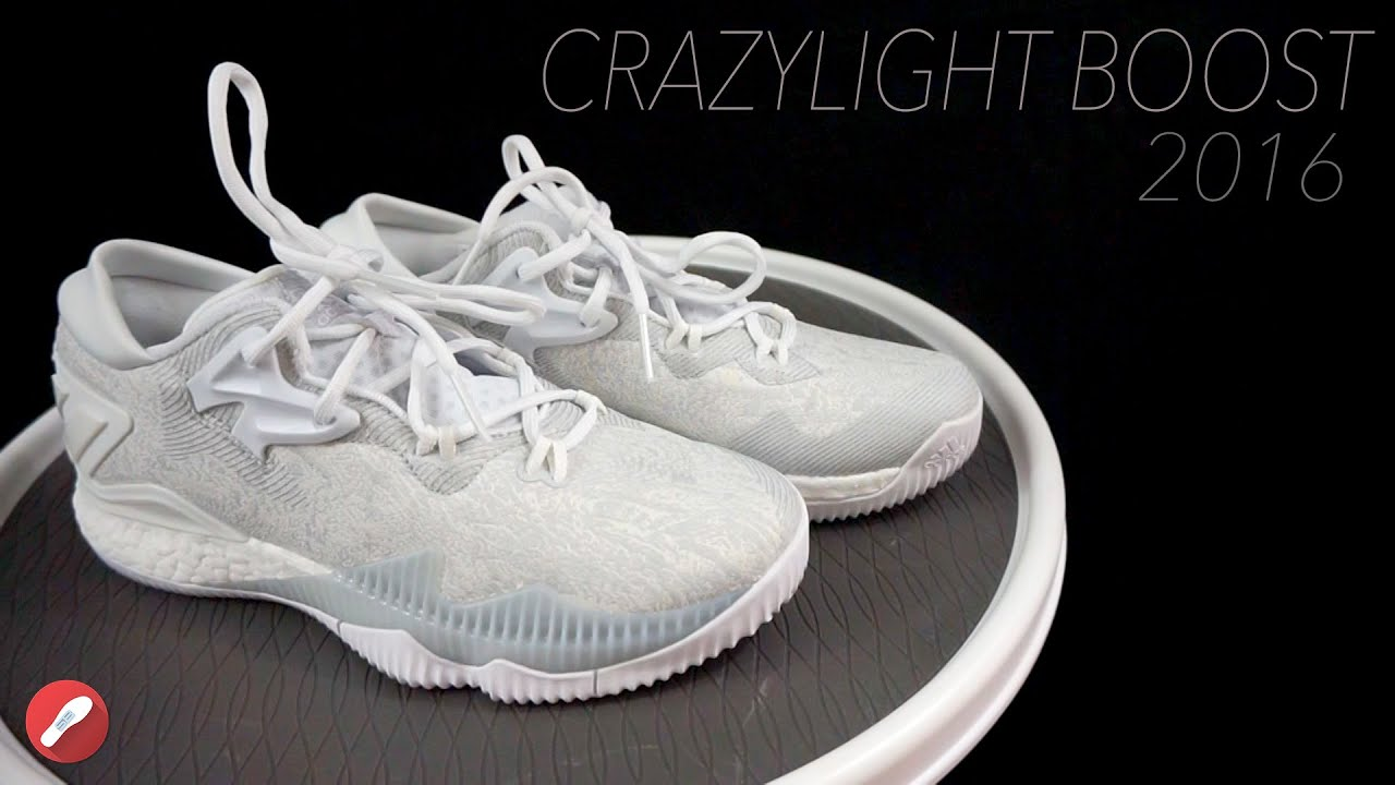 0b4bef4e3dc20b Adidas Crazylight Boost 2016 First Impressions! The Sole Brothers