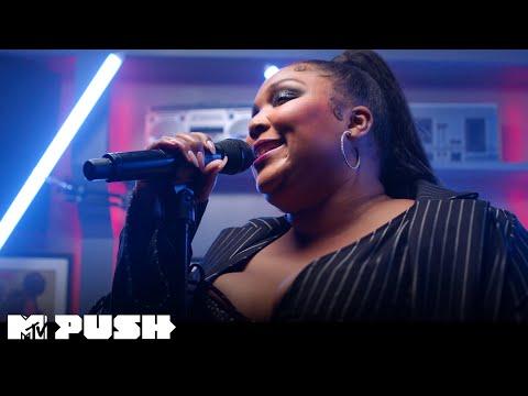 Lizzo Performs 'Juice' (Live Performance) | MTV Push