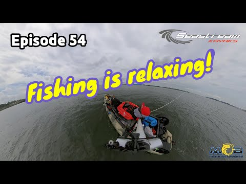 Fishing is relaxing....don't you think so? - Singapore Kayak Fishing Ep54