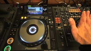 WHATS THE JOG WHEEL FOR ON A CDJ TURNTABLE AND CONTROLLER