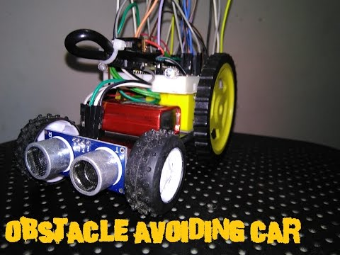Obstacle avoiding Car / Arduino autonomous car