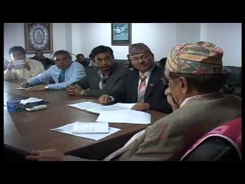Nepal Chamber of Commerce visits Financial Minister