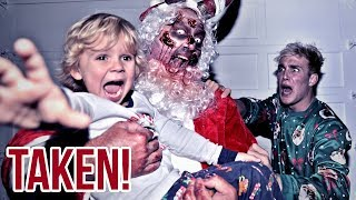 The Zombie Santa TOOK Mini Jake Paul.. (scary)