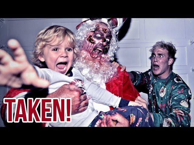 The Zombie Santa TOOK Mini Jake Paul.. (scary)