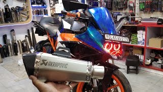 KTM RC390 With New Accessories  - King Indian