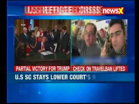 U.S refugee crisis: U.S SC grants Trump administration's request