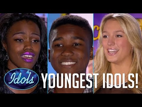 YOUNGEST American Idols   15 Year Olds With Mega Talent Audition On American Idol   Idols Global