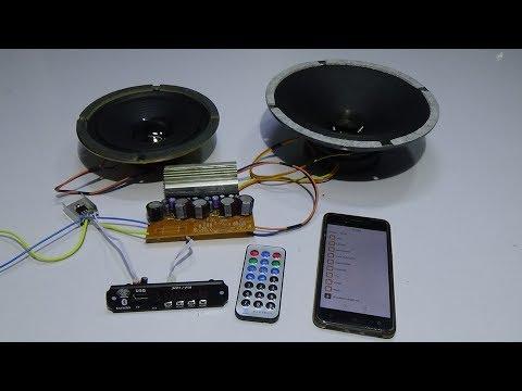 How to Make Bluetooth Amplifier at Home New Idea Make Amp 12v 10000 Watt
