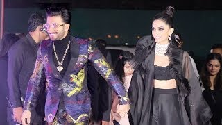 Deepika Padukone & Ranveer Singh's Magnificent ENTRY As Husband & Wife At Star Screen Awards 2018