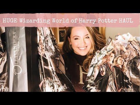 Huge Wizarding World Of Harry Potter Universal Orlando Haul   2018   Lauren Antoniaa