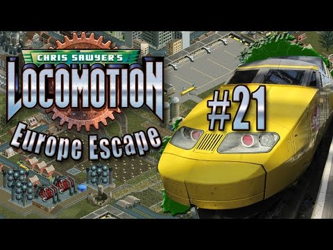 Chris Sawyer's Locomotion: Europe Escape - Ep. 21: EXPRESS MAIL