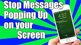 How To Make Messages Private On iPhone - YouTube