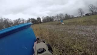"LMT 10.5"" SBR Shooting (GoPro)"