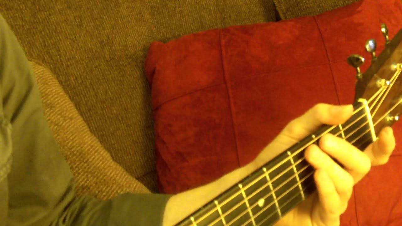 how to play wagon wheel on guitar with bass line part 1 youtube. Black Bedroom Furniture Sets. Home Design Ideas