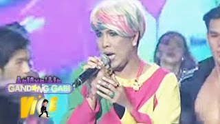 "Vice Ganda sings his latest song ""Wag Kang Pabebe"" on GGV. Subscrib..."