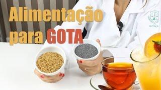 Alimentação para GOTA