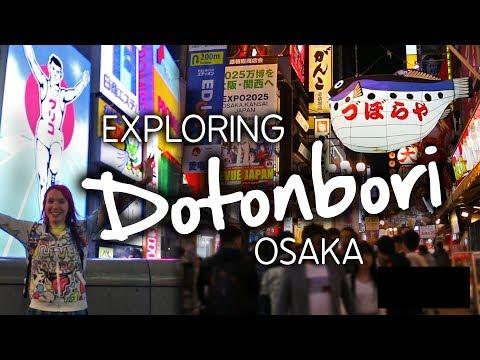 The Busiest Place in Osaka? Exploring Dotonbori, Japan