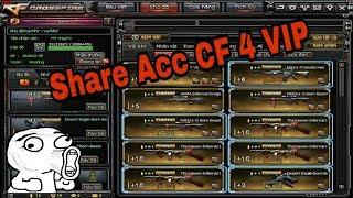 Chia Sẻ Acc CF   Acc 4 VIP Không Lỗi Đăng Nhập