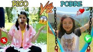 RICO VS POBRE FAZENDO AMOEBA / SLIME #9 - Anny e Eu