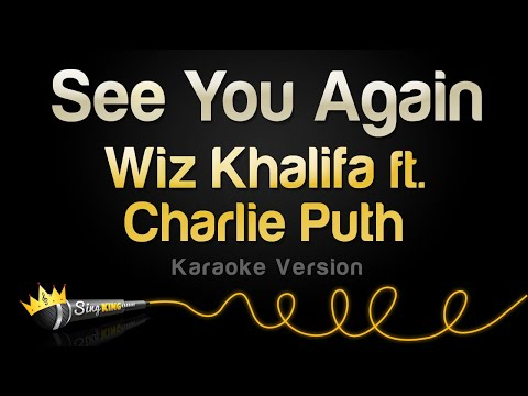 Wiz Khalifa ft Charlie Puth  See You Again Karaoke Version