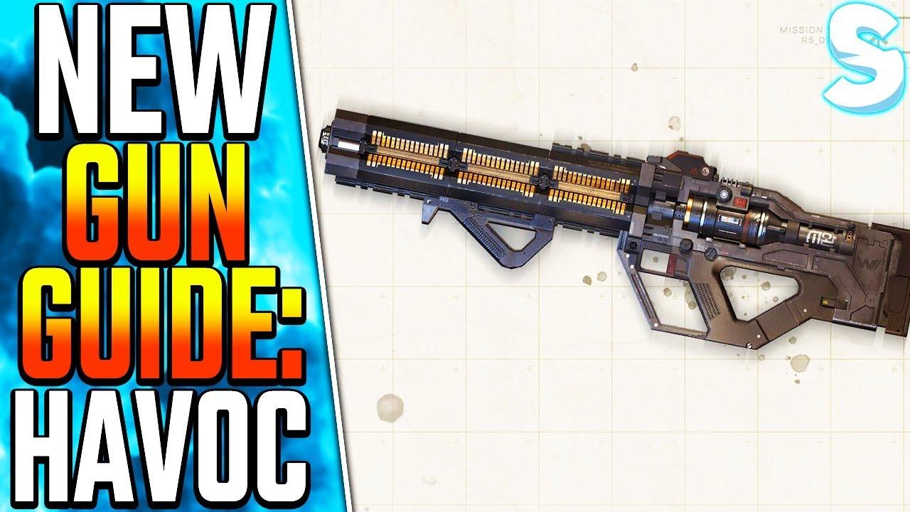 New Havoc Energy Rifle Weapon Guide Apex Legends Havoc