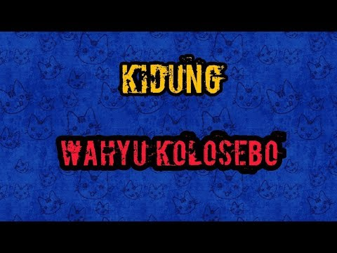 KIDUNG WAHYU KOLOSEBO - KARAOKE TANPA VOKAL