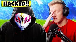 Fortnite Hacker ROBBED Tfue of MILLION DOLLAR Tournament...