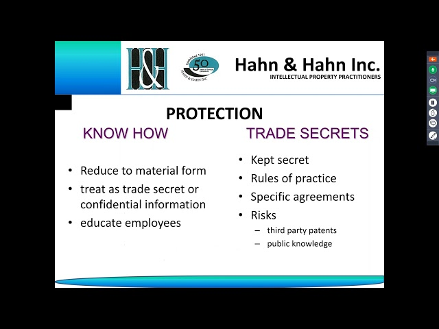 """""""The ABC s of IP   Who is stealing your food industry trade secrets from under your"""