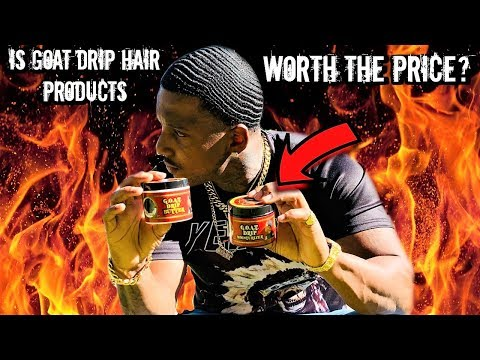 IS POPPY BLASTED GOAT DRIP HAIR PRODUCTS WORTH THE PRICE? + WHY IT'S TRENDING!!! ( MUST WATCH)