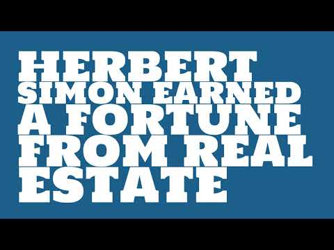 Herbert Simon: 2017 Net worth