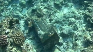 Archaeologists Discover 7 Stone Figure Statues from Sunken Ship Site in South China Sea