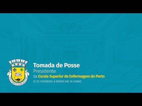 Cerimónia de tomada de posse do Presidente da ESEP