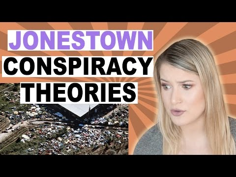 JONESTOWN CONSPIRACY THEORY