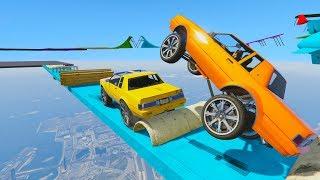 RUEDAS GIGANTES! INCREIBLE!! - CARRERA GTA V ONLINE - GTA 5 ONLINE