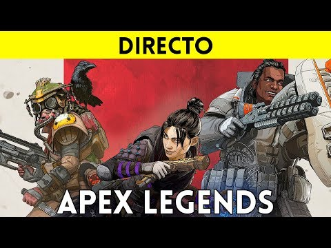 STREAMING español APEX LEGENDS (PS4, XONE, PC) - Un nuevo BATTLE ROYALE en el universo TITANFALL