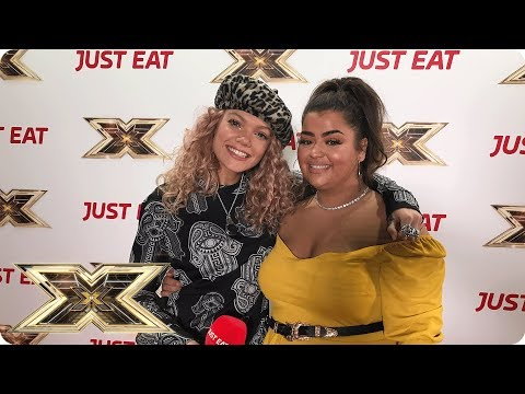 Exclusive interview with Scarlett Lee from X Factor! Just Eat's Backstage Bites 2018 | Episode 8