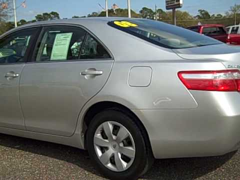 2008 TOYOTA CAMRY LE   Stock Number 8U760749P   Coggin Toyota Of The Avenues  Jacksonville Fl