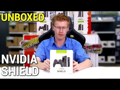 Nvidia Shield Media Player with Remote & Controller