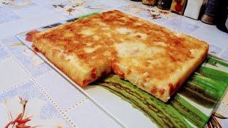 диетическая выпечка - Творожный низкокаллорийный пирог с курагой.