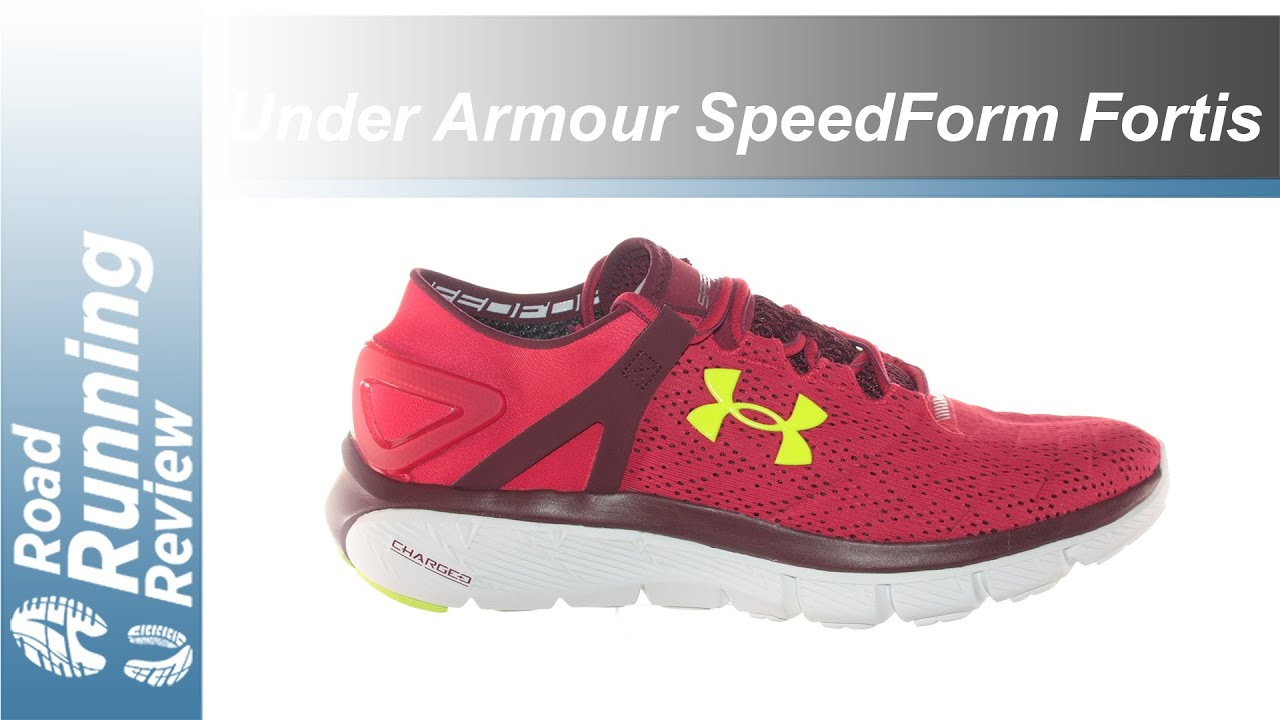 the best attitude aa89f c97d5 Under Armour SpeedForm Fortis Review