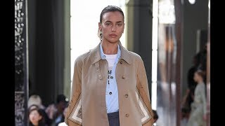 BURBERRY Spring Summer 2019 Highlights London - Fashion Channel