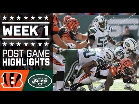 Bengals vs. Jets | NFL Week 1 Game Highlights