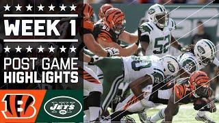 Bengals vs. Jets   NFL Week 1 Game Highlights