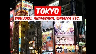 TOKYO, JAPAN   Jan 2018   Japan Travel Vlog #4