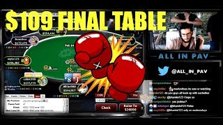 FINAL TABLE - $109 Saturday KNOCKOUT! - October 21 [DAILY RECAP]