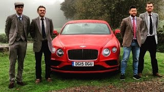 Bentley Continental GT Speed goes 200mph Videos