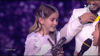 Daneliya Tuleshova - Winner announcement - The Voice Kids Uk...