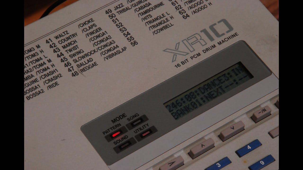 akai xr10 16 bit pcm drum machine demo song and preset kits youtube. Black Bedroom Furniture Sets. Home Design Ideas